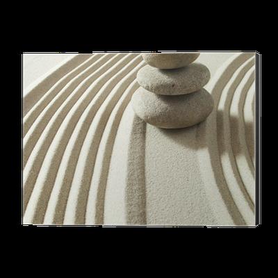 Zen Yoga Feng Shui Still Life Aluminium Print Dibond