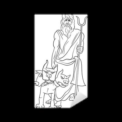 Erfreut Griechische Götter Malvorlagen Zeus Zeitgenössisch ...