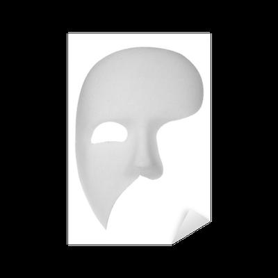 Aufkleber Phantom Der Oper Maske Pixers Wir Leben Um Zu Verändern