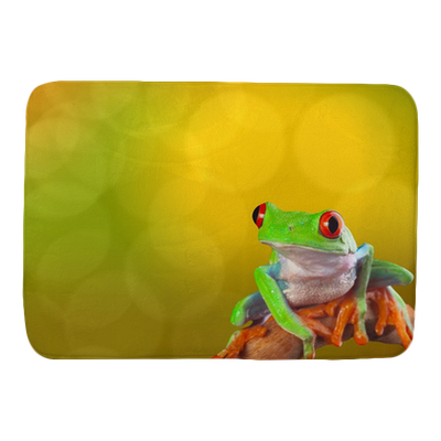 Red Eyed Tree Frog Bath Mat Pixers 174 We Live To Change