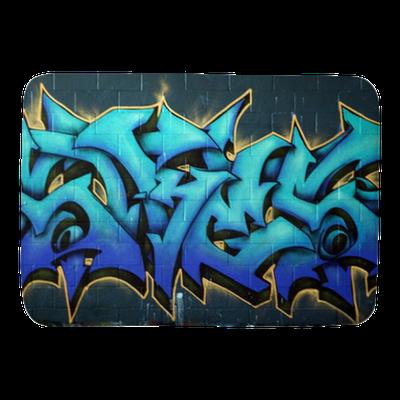 Street Graffiti Spraypaint Bath Mat • Pixers® • We live to change