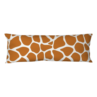 Vector Seamless Pattern With Giraffe Skin Texture Repeating Giraffe Interesting Giraffe Print Body Pillow Cover