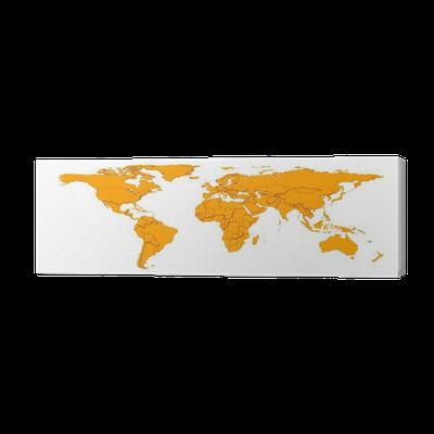 3d embossed countries borders worldmap canvas print pixers we 3d embossed countries borders worldmap canvas print pixers we live to change gumiabroncs Gallery