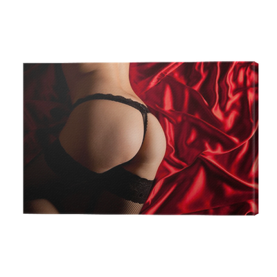 • In To Lingerie Sexy Ass Print Pixers® We Live Change Canvas thQrdsC