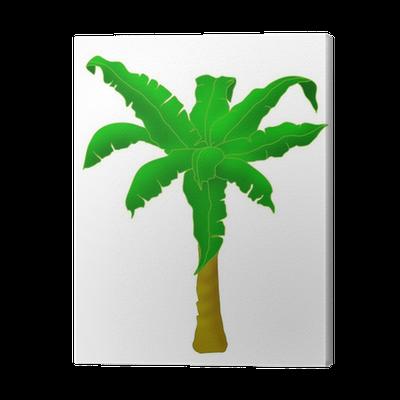 Banana Tree Canvas Print Pixers We Live To Change