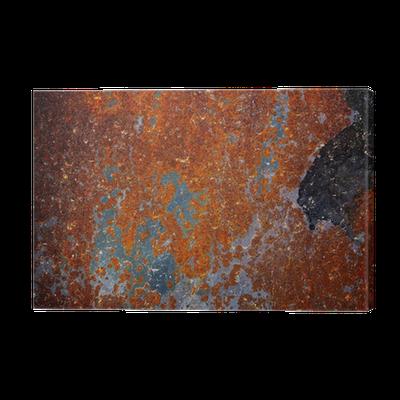 Old rusty sheet metal, texture Canvas Print • Pixers® - We ...