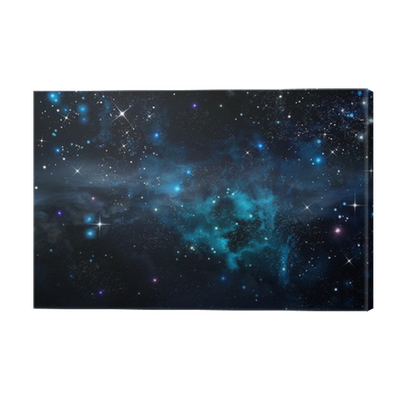 Starry Sky In The Open Space Canvas Print Pixers 174 We