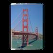 Canvastavla Golden Gate-bron