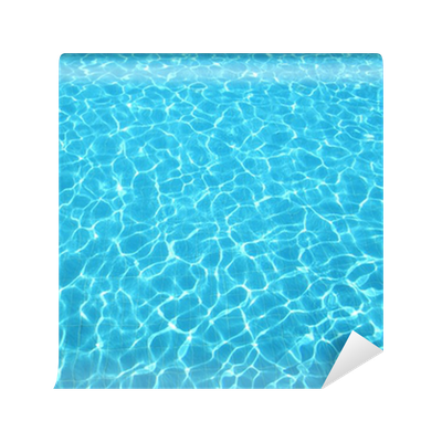 Carta da parati acqua blu in piscina pixers viviamo for Adesivi per piscine