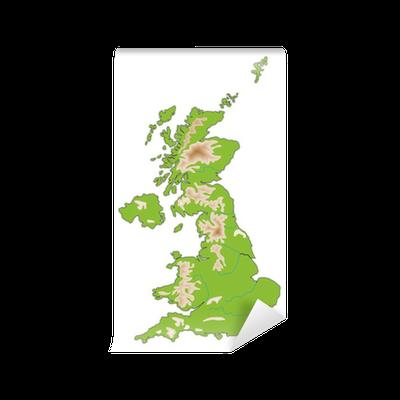 Cartina Fisica Regno Unito Da Stampare.Carta Da Parati Cartina Fisica Regno Unito Pixers Viviamo Per Il Cambiamento