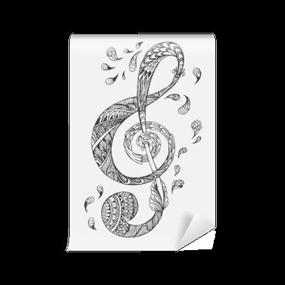 Vector disegnati a mano mandala orientali etnico doodle for Carta da parati etnica