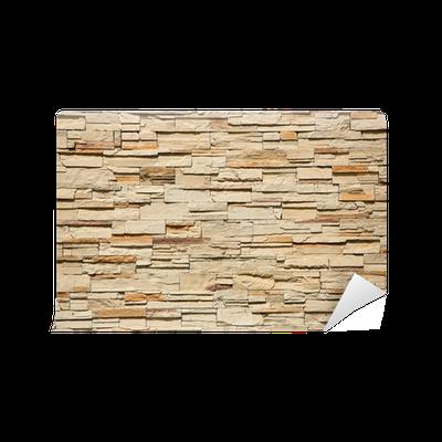 Carta da parati decorative sfondo muro di mattoni pixers for Carte parati decorative