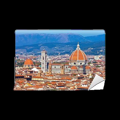 Carta da parati firenze paesaggio urbano pixers for Carta da parati firenze