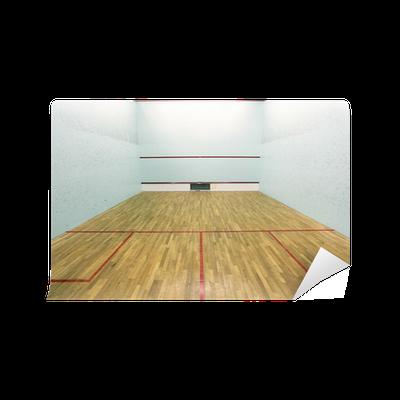 Carta da parati muro di campo da squash e servire scatole for Carta da parati muro