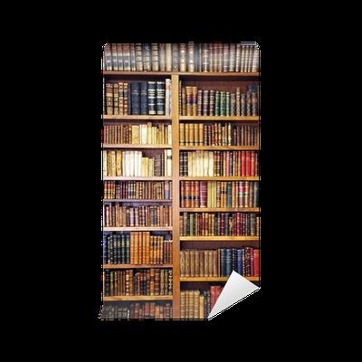 Carta da parati vecchi libri biblioteca pixers for Carta parati libri