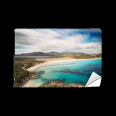 Carta da parati vista di una bella baia con mare azzurro for Aprire le planimetrie con una vista
