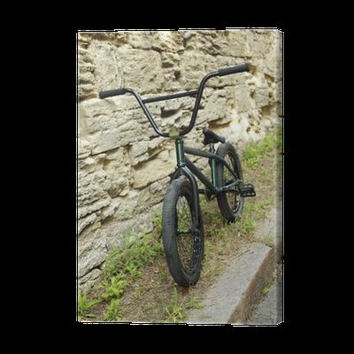 Cuadro en Lienzo Bicicleta de BMX en el parque • Pixers® - Vivimos ...