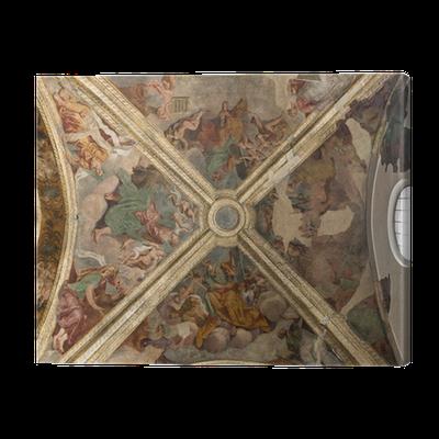 Cuadro en Lienzo Milano - cúpula de la capilla de la iglesia de San ...