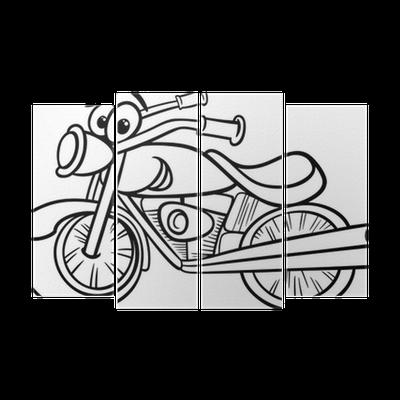 Bisiklet Ya Da Helikopter Boyama Dört Parçalı Pixers Haydi