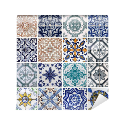 Fotomural azulejos de lisboa pixers vivimos para cambiar for Azulejos pvc autoadhesivos