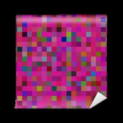 Fotomural p xel patr n pixers vivimos para cambiar - Fotomurales pixel ...