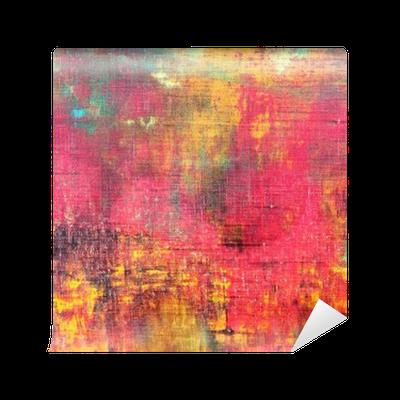 Fototapete abstrakte bunte hand bemalte leinwand textur hintergrund pixers wir leben um zu - Bemalte leinwande ...