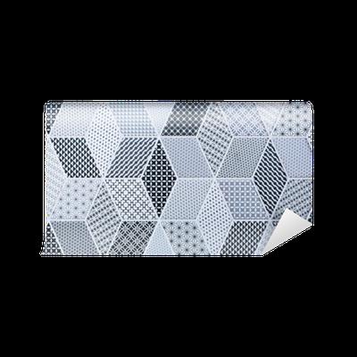 Fototapete abstrakte mosaik fliesen f r wand und boden for Boden aktionscode
