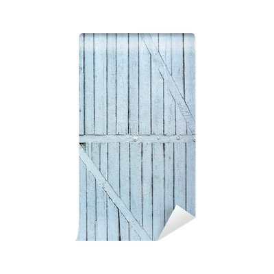 fototapete alten farbigen lack rissige holzt r mit diagonalen lamellen pixers wir leben. Black Bedroom Furniture Sets. Home Design Ideas