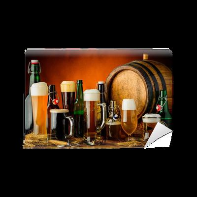 Fototapete Biermischgetränke • Pixers® - Wir leben, um zu verändern