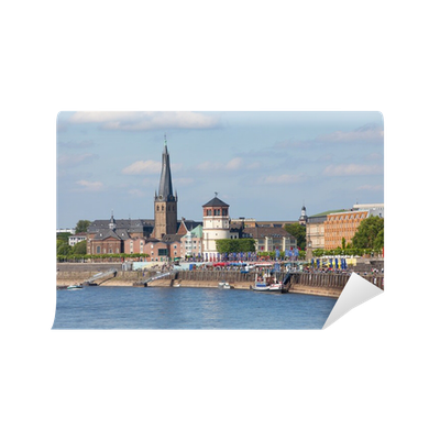 Fototapete historische altstadt d sseldorf pixers wir leben um zu ver ndern - Dusseldorf wandtattoo ...