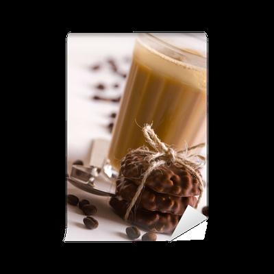 fototapete kaffee mit schokolade kekse pixers wir leben um zu ver ndern. Black Bedroom Furniture Sets. Home Design Ideas
