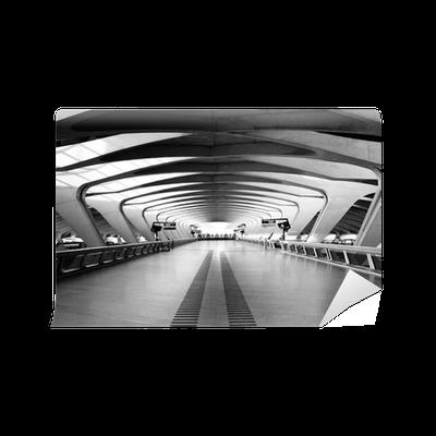 Fototapete lange passage way moderne architektur pixers wir leben um zu ver ndern - Moderne fototapeten ...