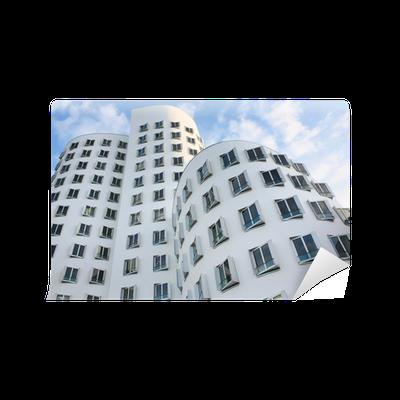 Fototapete moderne kunst geb ude in d sseldorf deutschland pixers wir leben um zu ver ndern - Dusseldorf wandtattoo ...