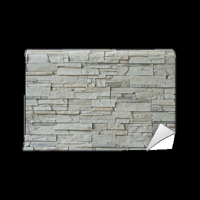 Fototapete moderne steinmauer pixers wir leben um zu ver ndern - Moderne fototapeten ...