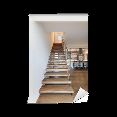 Fototapete moderne treppe innenhaus pixers wir leben um zu ver ndern - Moderne fototapeten ...