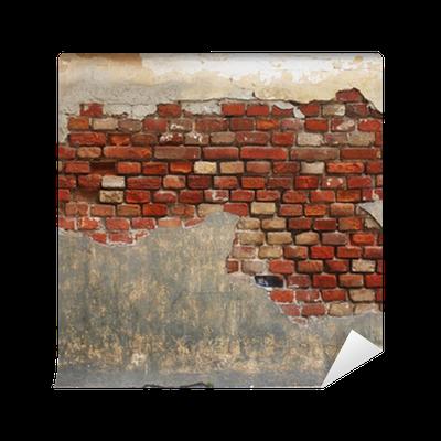 fototapete steinwand der alten backstein und putz pixers wir leben um zu ver ndern. Black Bedroom Furniture Sets. Home Design Ideas