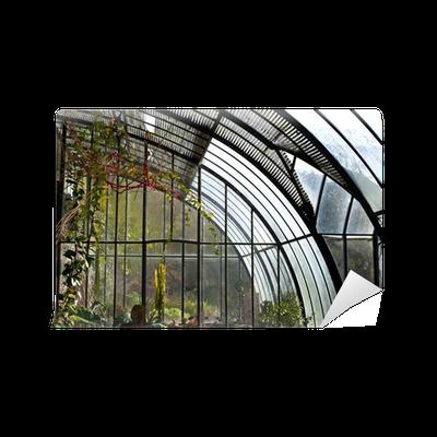 Fototapete wintergarten gew chshaus garten pflanzen haus garten gr n pixers wir leben - Gewachshaus garten ...