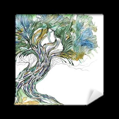 Fototapeta Winylowa Stare drzewo