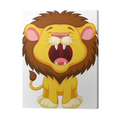 Leijona Piirretty