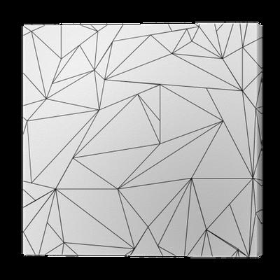Leinwandbild geometrische einfache schwarz wei for Einfache leinwandbilder