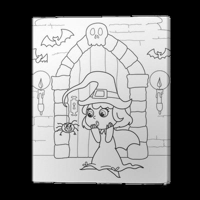 Tolle Halloween Haus Malvorlagen Fotos - Ideen färben - blsbooks.com