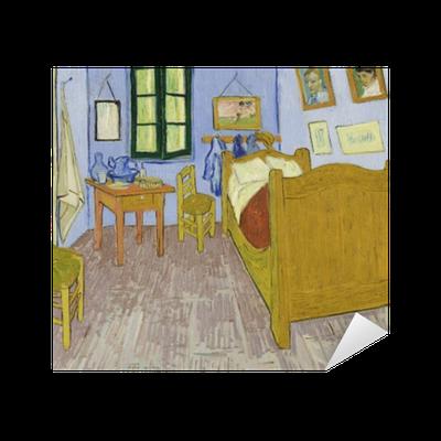 Naklejka Vincent Van Gogh Sypialnia W Arles Pixers żyjemy By Zmieniać