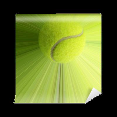papier peint balle de tennis avec l 39 action pixers nous vivons pour changer. Black Bedroom Furniture Sets. Home Design Ideas