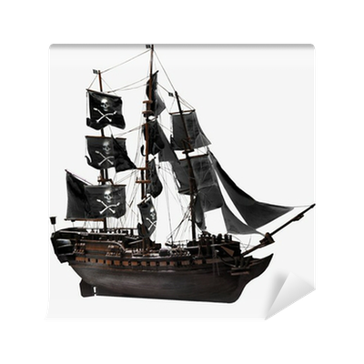 papier peint bateau pirate pixers nous vivons pour changer. Black Bedroom Furniture Sets. Home Design Ideas