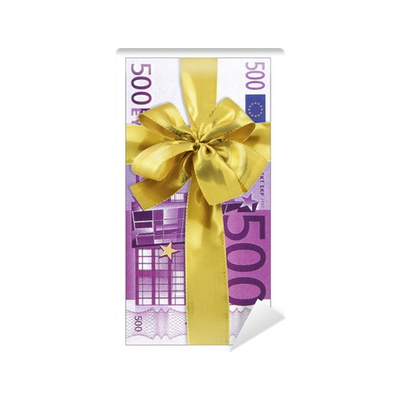 papier peint billets 500 euros cadeau pixers nous vivons pour changer. Black Bedroom Furniture Sets. Home Design Ideas