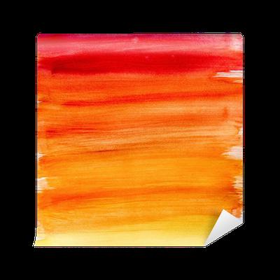 papier peint d grad fond d 39 aquarelle dans des couleurs chaudes pixers nous vivons pour changer. Black Bedroom Furniture Sets. Home Design Ideas