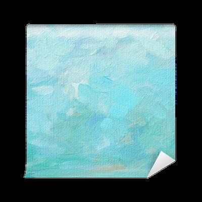 Papier peint mousse de mer et les claboussures la - Papier pour peinture huile ...