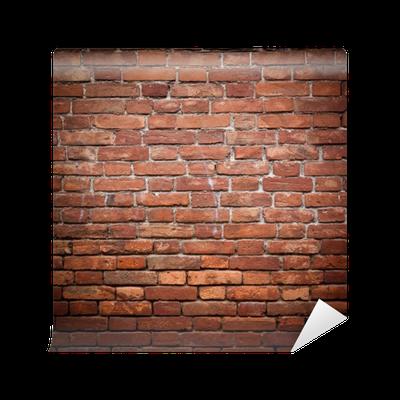Papier peint mur de brique rouge vieux grunge texture Mur en brique rouge
