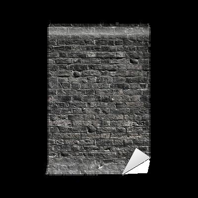 papier peint noir mur de briques texture pixers nous vivons pour changer. Black Bedroom Furniture Sets. Home Design Ideas