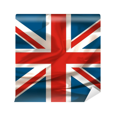 papier peint ondul s soyeux union jack illustration. Black Bedroom Furniture Sets. Home Design Ideas